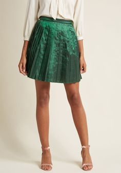 Pleated Party Skirt