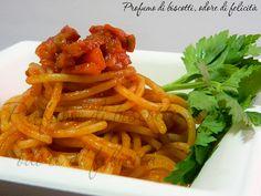 spaghetti al ragù veloce di culatello