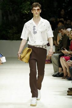 Salvatore Ferragamo Spring 2018 Menswear Fashion Show Collection