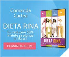 Dieta Rina - Slabeste pana la 10 KG in 90 de ZILE! Afla ce trebuie sa faci!