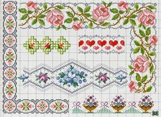 Thrilling Designing Your Own Cross Stitch Embroidery Patterns Ideas. Exhilarating Designing Your Own Cross Stitch Embroidery Patterns Ideas. Cross Stitch Boarders, Cross Stitch Rose, Cross Stitch Flowers, Counted Cross Stitch Patterns, Cross Stitch Charts, Cross Stitch Designs, Cross Stitching, Cross Stitch Embroidery, Embroidery Patterns