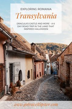 Have you ever considered a vacation in Romania? In this article lets explore Romania's famous Transylvania region, Dracula's castle, Sibiu, Sighisoara, Cluj-Napoca, Brasov and Bucharest. Here you'll find a complete itinerary including things to do in romania, where to stay in transylvania and much more. Explore the region that inspired Halloween - Transylvania.