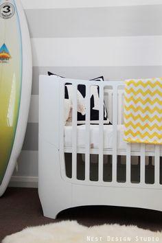 Project Nursery - Beach Inspired Nursery Crib