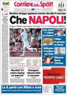 Prensa deportiva del 4 de Agosto 2013