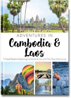 Cambodia and Laos Adventure travel guide book