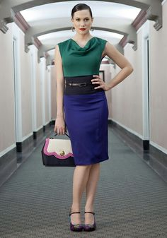Colorblock Off Your Schedule Dress, #ModCloth