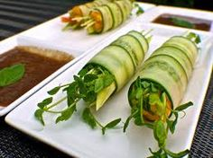 These Cucumber Rolls looks so tasty and we don't think they would be difficult to make.