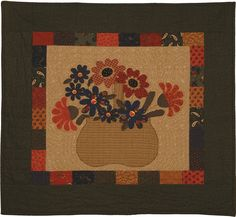 Basket full of blooms by Kansas Troubles Quilters