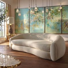 For more luxury modern living room interior design inspirations check our website Dream Home Design, Home Interior Design, Interior Architecture, House Design, Interior Decorating Styles, Aesthetic Room Decor, Dream Rooms, My New Room, House Rooms