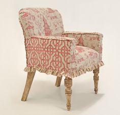 Quatrine Custom Furniture - Slipcovered Entry Chair