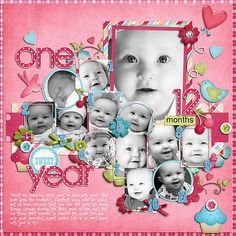 Layout: One Sweet Year