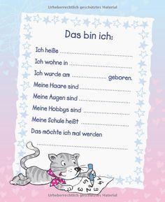Mein Schulstart Album Mädchen: Amazon.de: Mara Helfenbein: Bücher