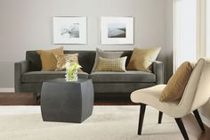 I like this sofa, wish they make it white.