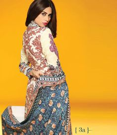 Rajbari Premium Fall Winter Linen Collection 2015 RB_03A
