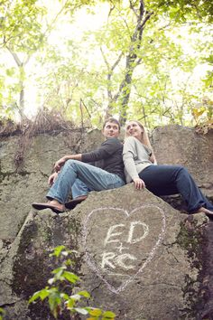 Woodsy Engagement Shoot - PHOTO SOURCE • APRIL K PHOTOGRAPHY | Featured on WedLoft