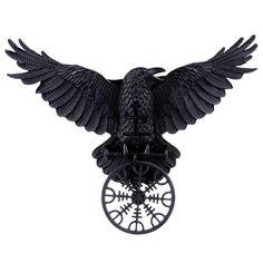 RESTYLE - Helm Of Awe Raven Hårklämma
