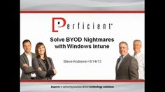 Solve BYOD Nightmares with Intune
