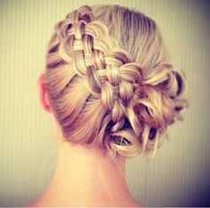 Braided Updo... Love this!!!