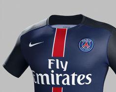 Paris Saint-Germain 2015-16 Nike Home