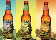 Angry Orchard bottles - Aaron's favorite (apple)