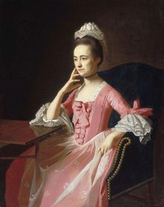 Dorothy Quincy, by John Singleton Copley, c. 1772.