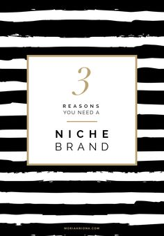 Finding Your Brand Voice   3 Reasons You Need a Niche Brand #branding #niche #business