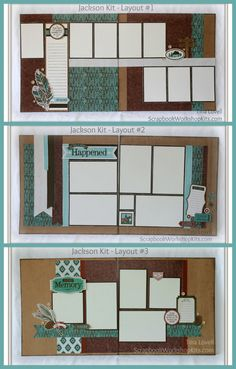 Scrapbook Kit Cutting Guides Created by Tina Lovell To help make your job faster, simpler and easier, I have made my Scrapbook Kit cu. Scrapbook Layout Sketches, Scrapbook Templates, Scrapbook Designs, Scrapbooking Layouts, Owl Templates, Applique Templates, Applique Patterns, Birthday Scrapbook, Wedding Scrapbook
