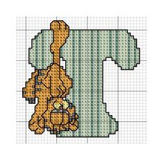 Garfield Alphabet_T