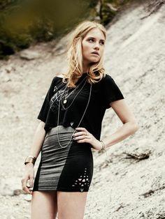 Shops, Rock, Sweatshirts, Designer, Leather Skirt, Mini Skirts, T Shirt, Fashion, Supreme T Shirt