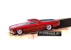 Pin Chip Foose Drawings Overhaulin