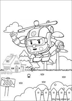 dibujos de robocar poli volver a la categoría robocar poli