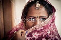 istock - Eye Contact, Indian Woman Real People Portrait Royalty Free Stock Photo