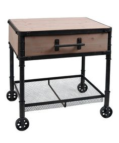 Another great find on #zulily! Industrial Planter Stand #zulilyfinds
