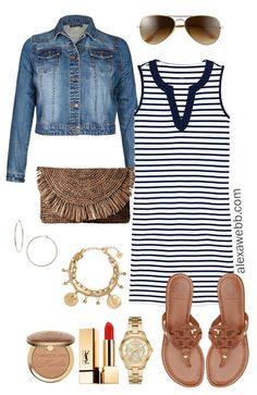 Plus Size Beach Weekend Capsule - Plus Size Vacation Packing List - Plus Size Fashion for Women - Alexa Webb - alexawebb Plus Size Beach, Plus Size Swim, Dress Plus Size, Plus Size Outfits, Plus Size Fashion For Women, Latest Fashion For Women, Womens Fashion, Fashion Trends, Fashion Ideas