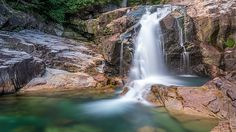 5 minute exposure of lower falls in the wilderness of Golden ears provincial park, British Columbia, Canada Fall Canvas Art, Fraser Valley, Contemporary Photographers, British Columbia, Wilderness, Infographic, Waterfall, Fine Art, Wall Art