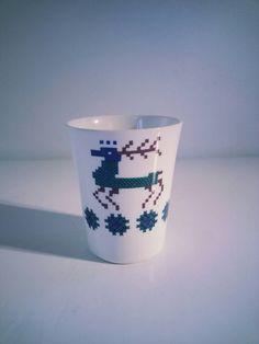 Vintage Figgjo Flint Turi Design Noway Mug decor Menu. Designed by Turi Gramstad Oliver. Is in a good condition. no crackle. Norway, Shot Glass, Scandinavian, Menu, Pottery, Holidays, Tableware, Vintage, Design