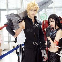 Cloud Strife, FF7 #cosplay