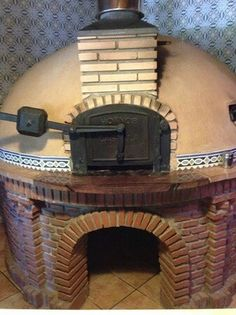 Search for Hornos oven doors Pizza Oven Fireplace, Home Fireplace, Wood Fired Oven, Wood Fired Pizza, Outdoor Oven, Outdoor Cooking, Wood Burning Heaters, Fire Pit Bbq, Bread Oven