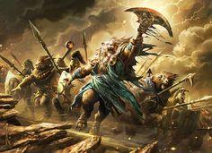Mana-Screwed — Ajani Goldmane is torn between his leonin ferocity...