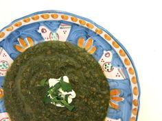 Elizabeth Minchilli in Rome: indian swiss chard + lentil {soup} Chard Recipes, Spinach Recipes, Coriander Leaves, Fresh Coriander, Tiny Fridge, Chard Leaves, How To Cook Greens, Mustard Greens