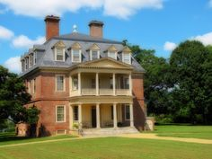 Construction began on the Great House at Shirley Plantation in 1723 and was completed in 1738.