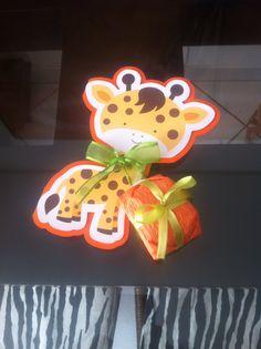 Convite girafa