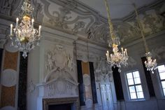 There are many reasons why I travel: for visiting an iconic place, for discovering hidden histories - I have a PhD in history, after all -,. Castle, Chandelier, Ceiling Lights, Decor, Candelabra, Decoration, Chandeliers, Castles, Decorating