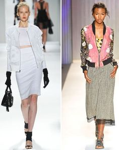 The Bomber Jacket: 3 Killer Ways To Wear Spring 2014′s Must-Have Trend