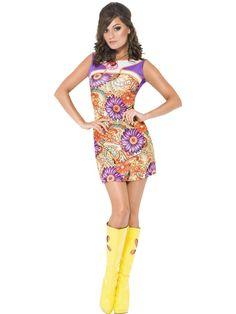 1960s Peace Love Costume - The Costume Shop
