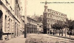 Calle O'Higgins - Valparaíso Costa, Cities, Belle Epoque, Street View, Building, Travel, Random, Littoral Zone, Amor