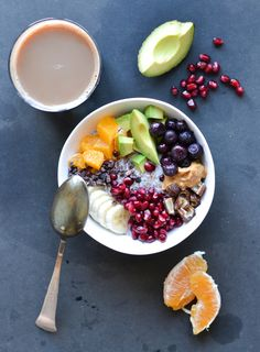 Sweet #breakfast bowl with a chia & almond porridge base. #healthy http://sulia.com/my_thoughts/06d47c11-74a3-4b93-8faf-e0fe27a4f1de/?source=pin&action=share&btn=small&form_factor=desktop&pinner=28373411