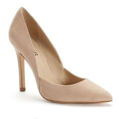 Style Charles by Charles David Pierce Women's Microfiber High Heels, Size: medium (9.5), Dark Brown