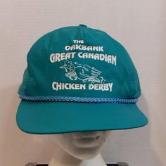 The Oakbank Great Canadian Chicken Derby Snapback Baseball Truckers Hat Cap by LouisandRileys on Etsy
