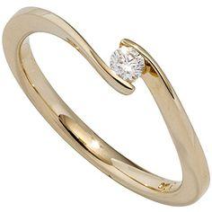 Dreambase Damen-Ring 1 Diamant-Brillant 14 Karat (585) Gelbgold 0.20 ct. 58 (18.5) Dreambase http://www.amazon.de/dp/B0147RNO2M/?m=A37R2BYHN7XPNV